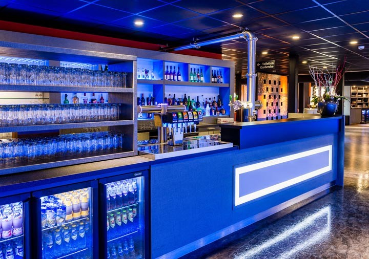 Wereld restaurant Breed drankenbar