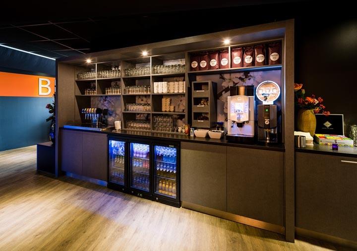 Wereld restaurant Breed koffie en thee